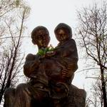 Memorial sign To Children of War | Monuments and Sculptures | Vitebsk - Attractions