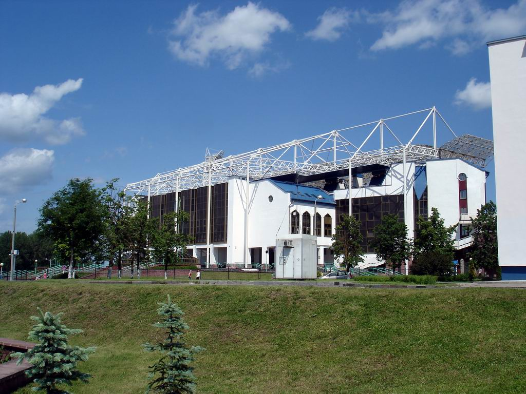 "Central Sports Complex ""Vitebsky"": elegant addition to the stylish city."