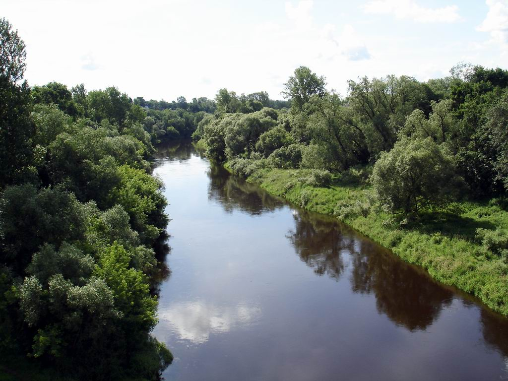The River Luchesa: amazing necklace of Vitebsk.