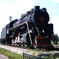 Steam Locomotive-Monument | Monuments and Sculptures | Vitebsk - Attractions
