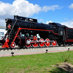 Steam Locomotive-Monument L-3562 – wonderful and incredible.