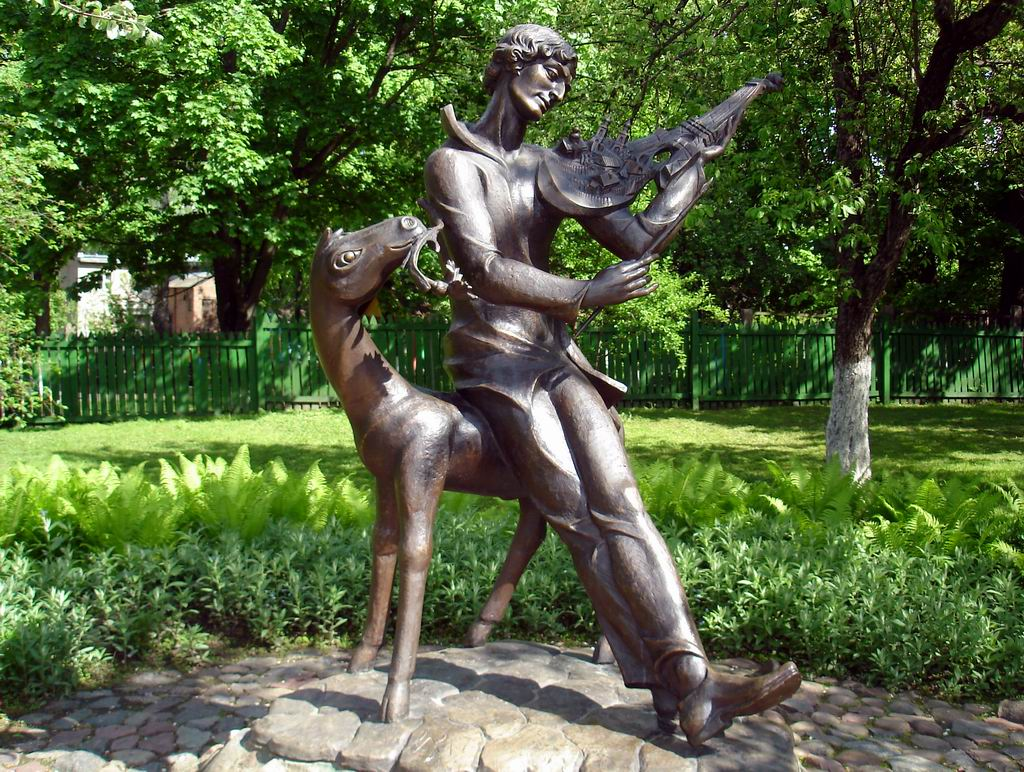 Vitebsk melody on a French violin.