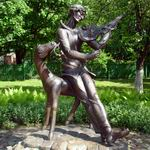 Monument to Marc Chagall in Vitebsk