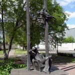Marc Chagall Monument in Pokrovskaya Street | Monuments and Sculptures | Vitebsk - Attractions