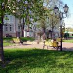 Mayakovsky Public Garden: under the cover of mysterious Vitebsk.