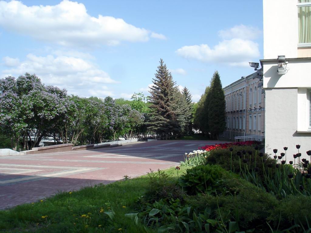 Pushkin Street: picturesque place in Vitebsk.