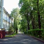 Putna Street: picturesque place in Vitebsk.